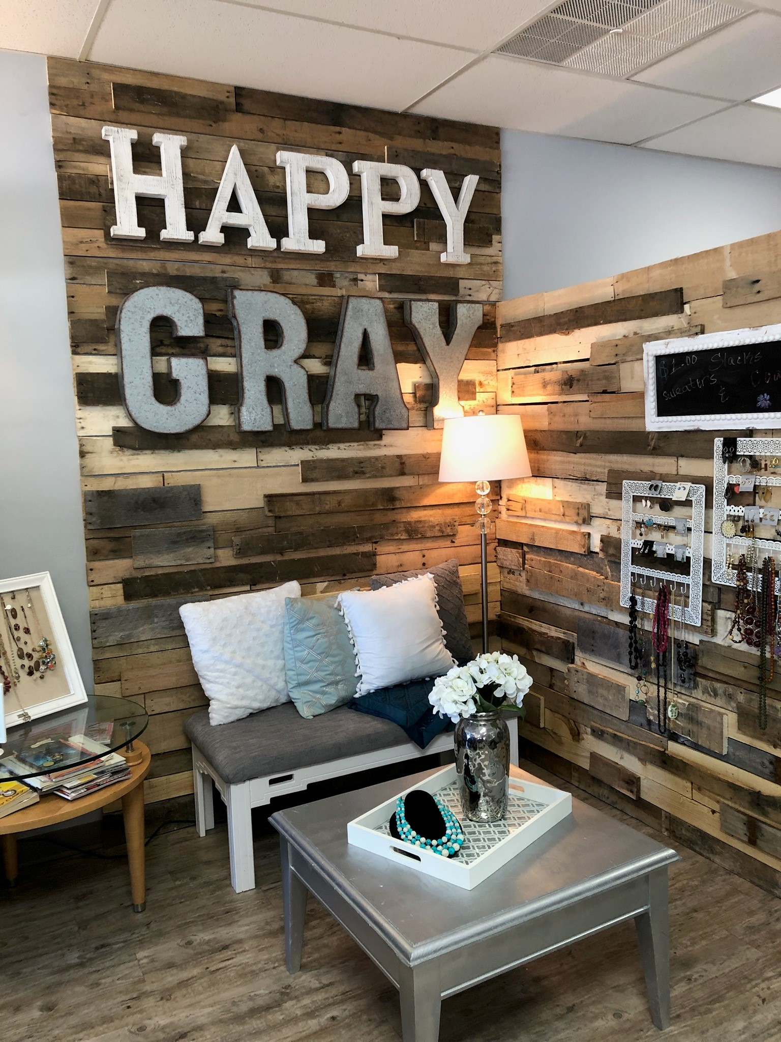 Happy Gray Fashion And Furniture Union Rescue Mission